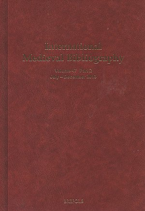 International Medieval Bibliography 300-1500 : multidisciplinary bibliography of the Middle Ages.